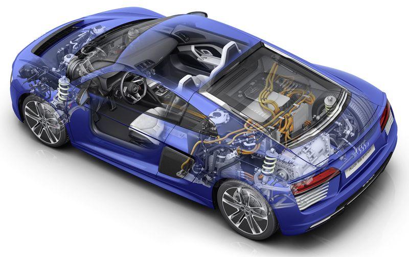 Audi R8 e-tron 2